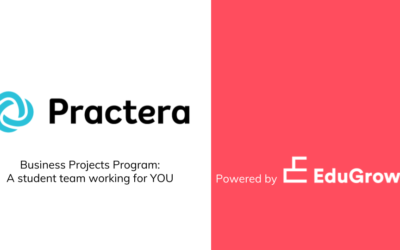 EduGrowth Online Briefing: student teams working for you with PRACTERA