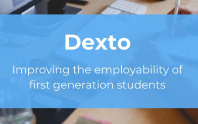 Dexto – improving employability for 1st gen uni students