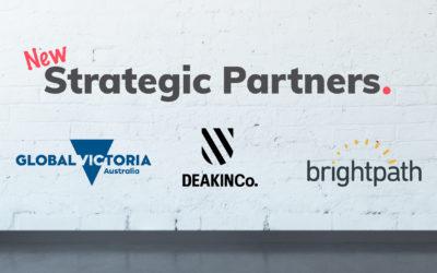 Introducing new strategic partners