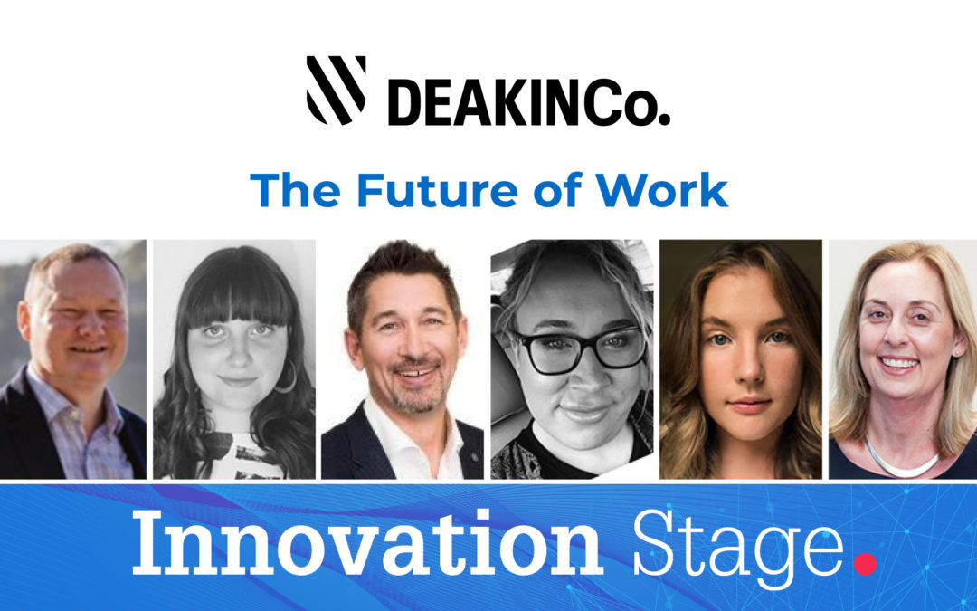 The Innovation Stage looks at the future of work