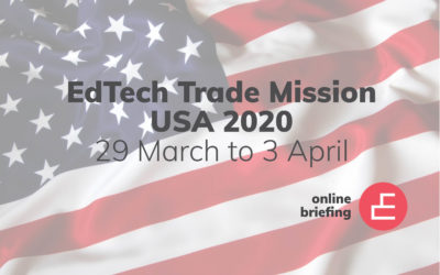 EduGrowth Online Briefing: US EdTech Trade Mission 2020