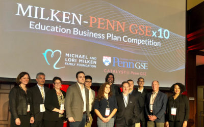 Milken-Penn GSE Business Plan Competition opens 4th March