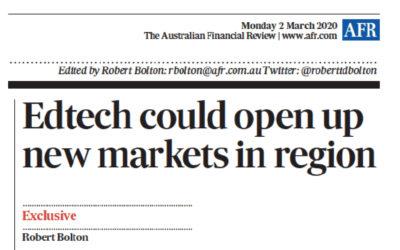 Media Coverage: Australian EdTech Market Census