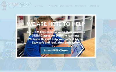 STEM Punks – promoting digital literacy for students at home with online classes