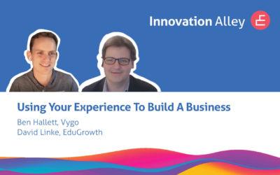 Entrepreneur Interview with Ben Hallett, Vygo
