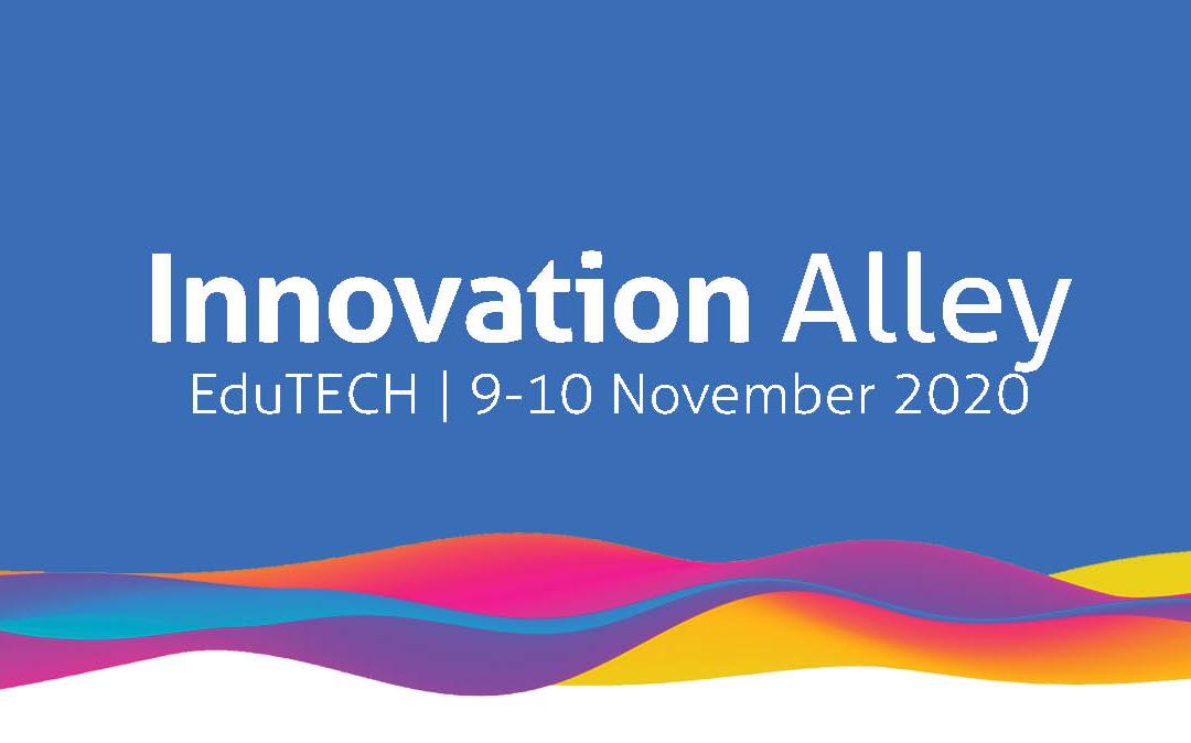 Innovation Alley at EduTECH 2020