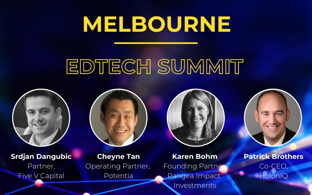Investment Panel: 2020 Melbourne EdTech Summit