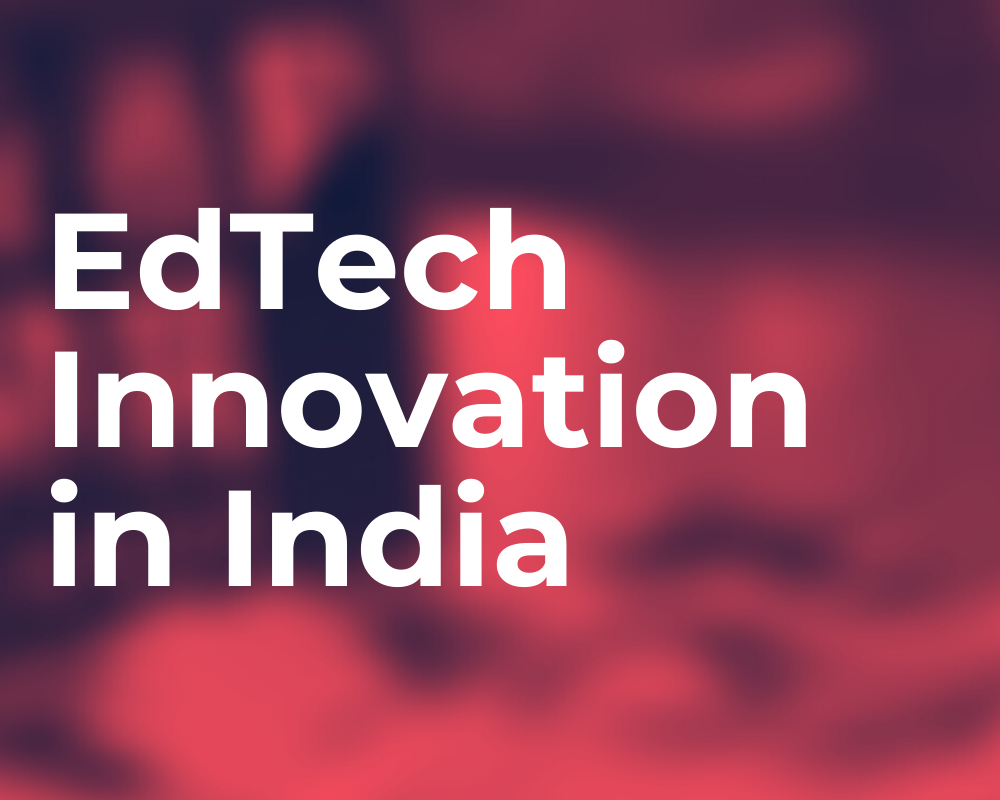 India Innovation Exchange - EdTech Innovation in India pink image
