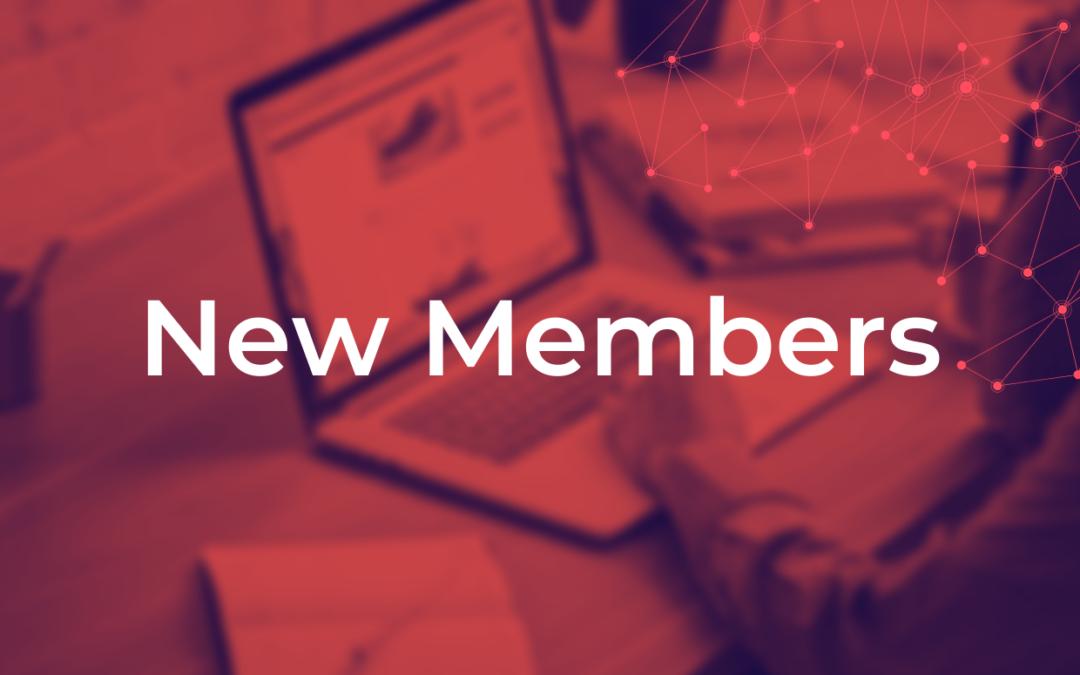 New Members: October 2020 – January 2021