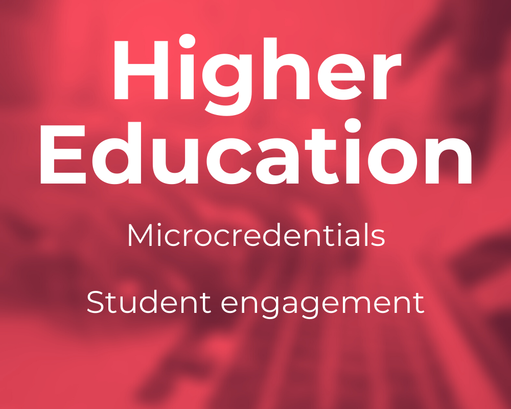 EduGrowth Victorian Global EdTech and Innovation Expo - Higher Education Themes pink image