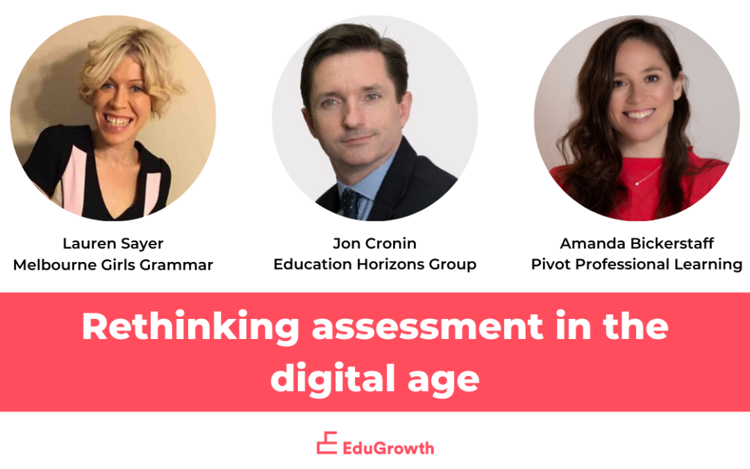 Rethinking assessment in the digital age