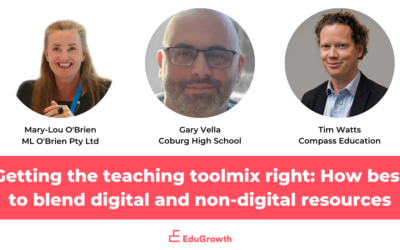 Getting the teaching toolmix right: How best to blend digital and non-digital resources to maximise student outcomes