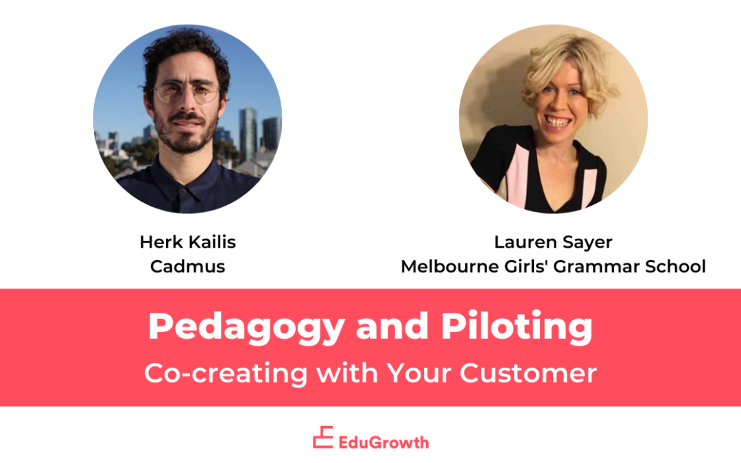 Co-creating with Your Customer: Pedagogy and Piloting
