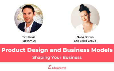 Shaping Your Business – Product Design and Business Models