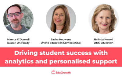 Driving student success with analytics and personalised support