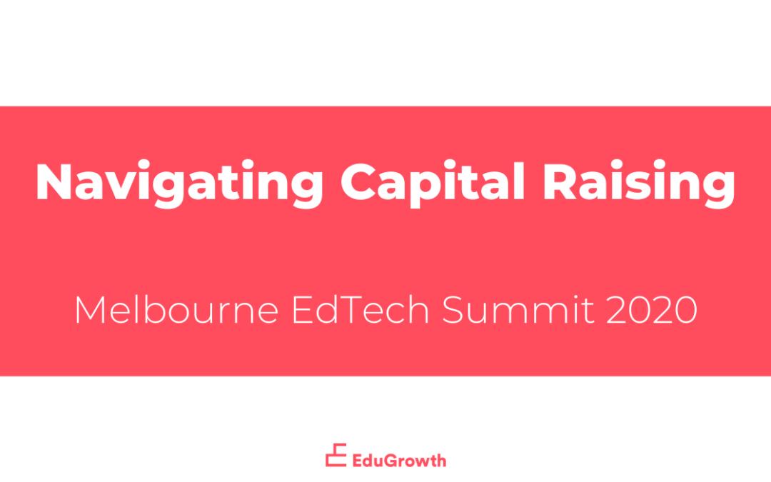 Navigating Capital Raising