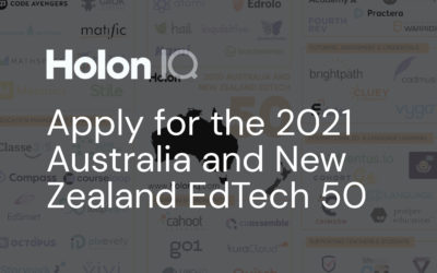Apply to be listed on HolonIQ's 2021 ANZ EdTech 50
