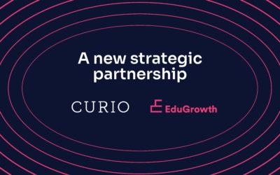 EduGrowth welcome Curio as a Strategic Partner
