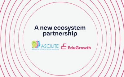 EduGrowth welcome ASCILITE as an Ecosystem Partner