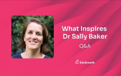 What Inspires Dr Sally Baker — in 4 Questions